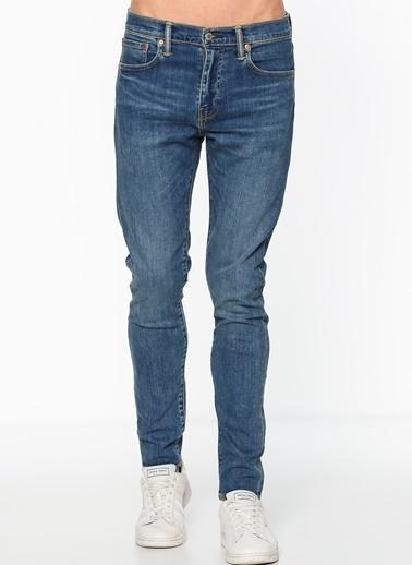 Levi's® Jean Pantolon | 512 - Slim Taper Lacivert